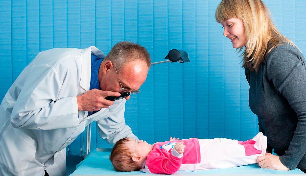В норме дети рождаются дальнозоркими